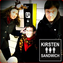 Kirsten Sandwich CD Promo framed w